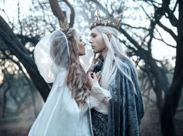 A sneak peek from our spring/March Tolkien cover shoot from Bella Kotak Photography