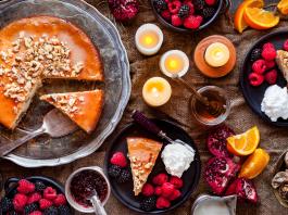 Honey Walnut Cake Recipe Hobbit Breakfast