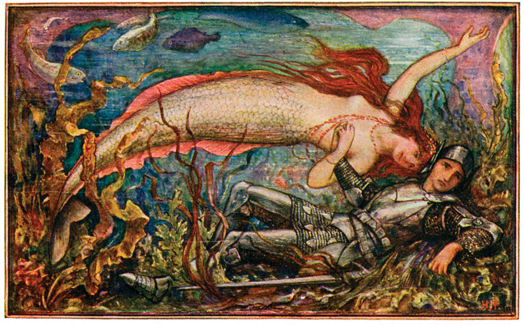 "H. J. Ford for Andrew Lang's ""The Brown Fairy Book"". Wikimedia Commons."
