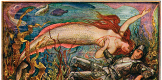 """H. J. Ford for Andrew Lang's """"The Brown Fairy Book"""". Wikimedia Commons."""