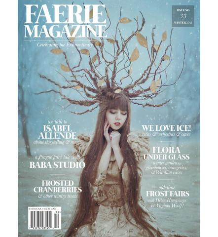 Faerie Magazine 2015 Cover Winter