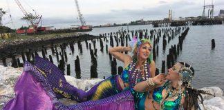 New York mermaids Kai Altair and Ali Luminescent