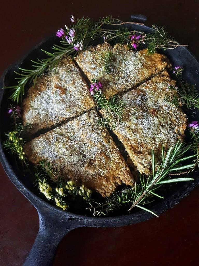 Outlander Faerie Magazine bannock bread from Gather Victoria