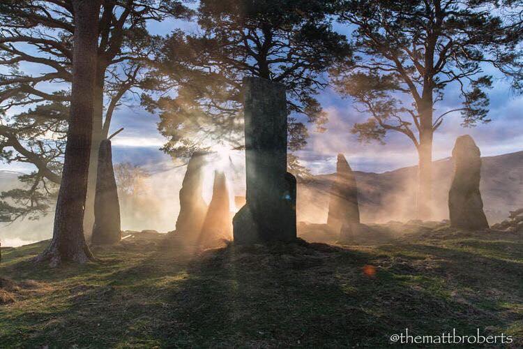 Fearie Magazine Matthew B. Roberts Outlander Set Photo