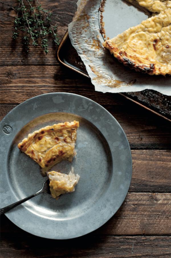 Theresa Carle-Sanders Jenny's Onion Tart Outlander Kitchen Faerie Magazine