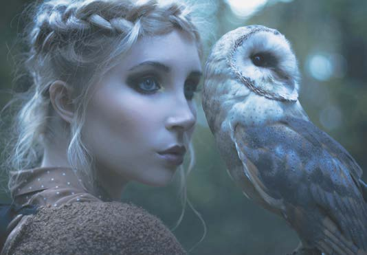 Photography: Michalina Woźniak  Faerie Magazine Owls