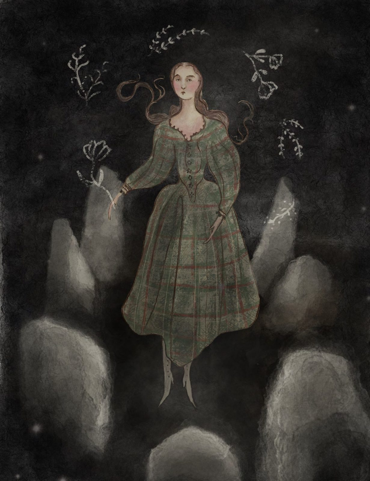Signs You May Have  FalleN ThRough TiMe by Grace Nuth  Illustration by Guinevere von Sneeden Outlander