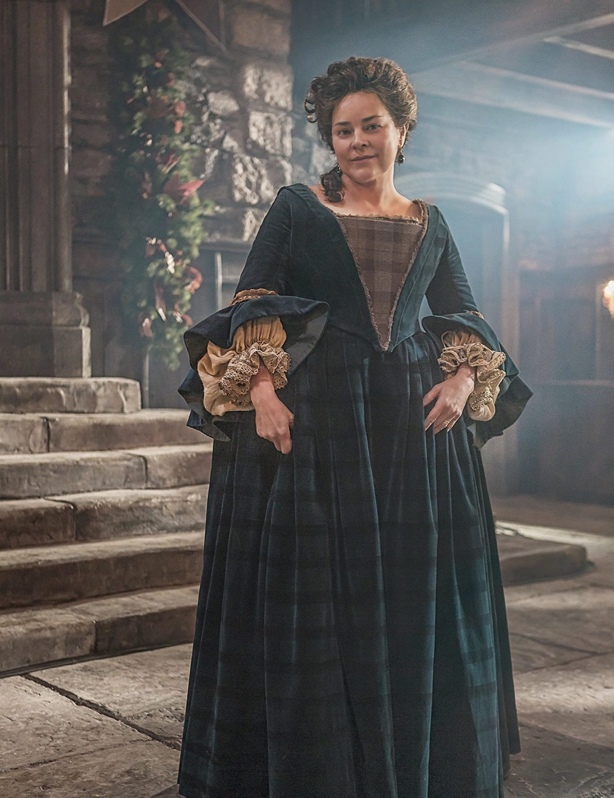 Courtesy of Starz - Diana Gabaldon as Iona MacTavish Outlander Faerie Magazine