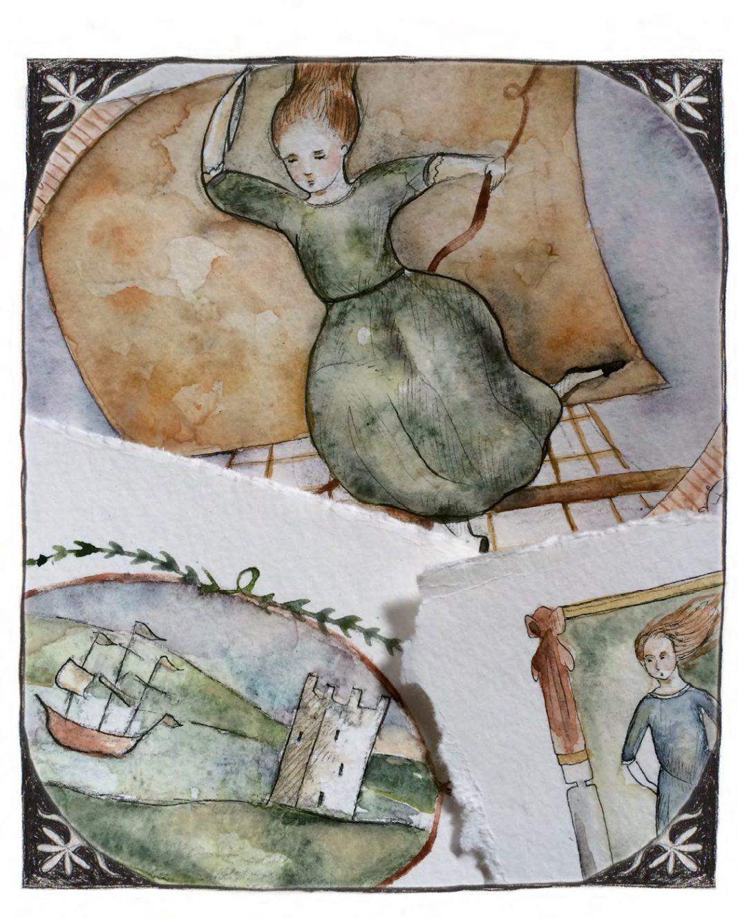 Illustrated by Guinevere von Sneeden