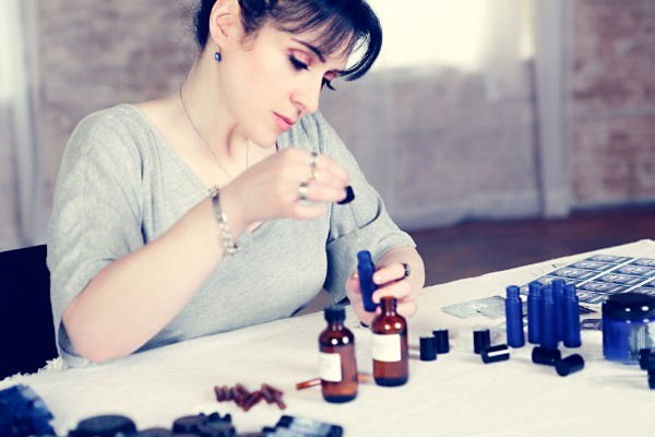 Faerie Magazine Talks to Deep Midnight Perfumes creator Cat Marx