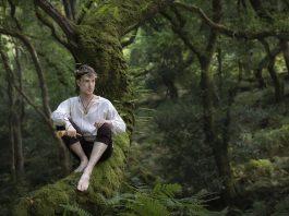 Enchanted Living Magazine, Photographer/Costumes: Carri Angel Photography Second Photographer: Ange Harper Models: Ian Hencher, Sorcha Verey, The Druidess Of Midian Headdress: Under the Ivy