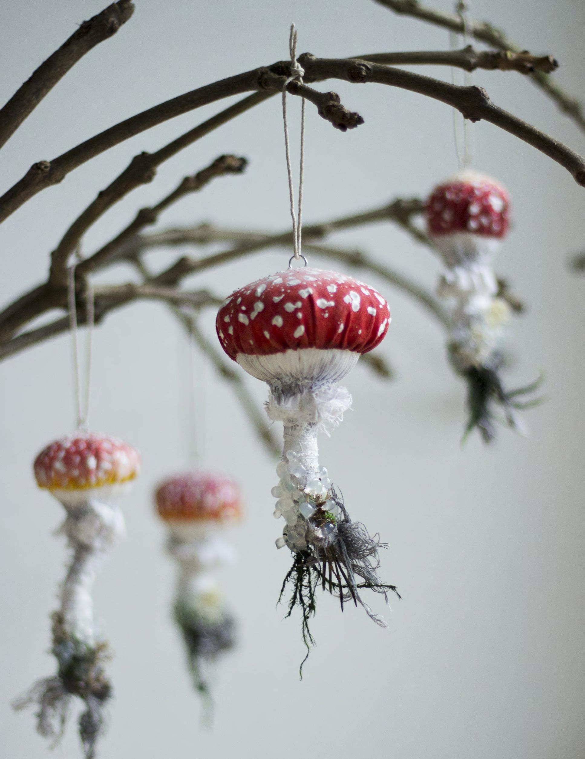 Emily Yeadon, Enchanted Living Magazine, Interview, Moth, Felt, Mushroom