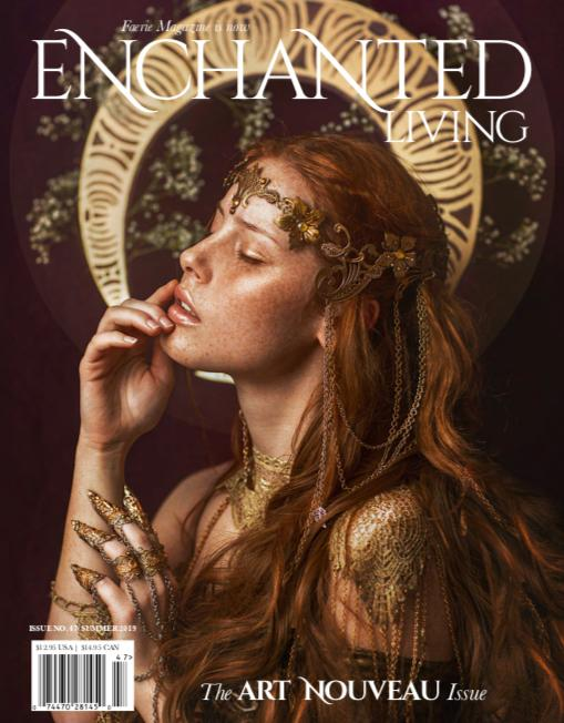 On Our Cover—Model: Lenka Regalová Crown: Ivy Design