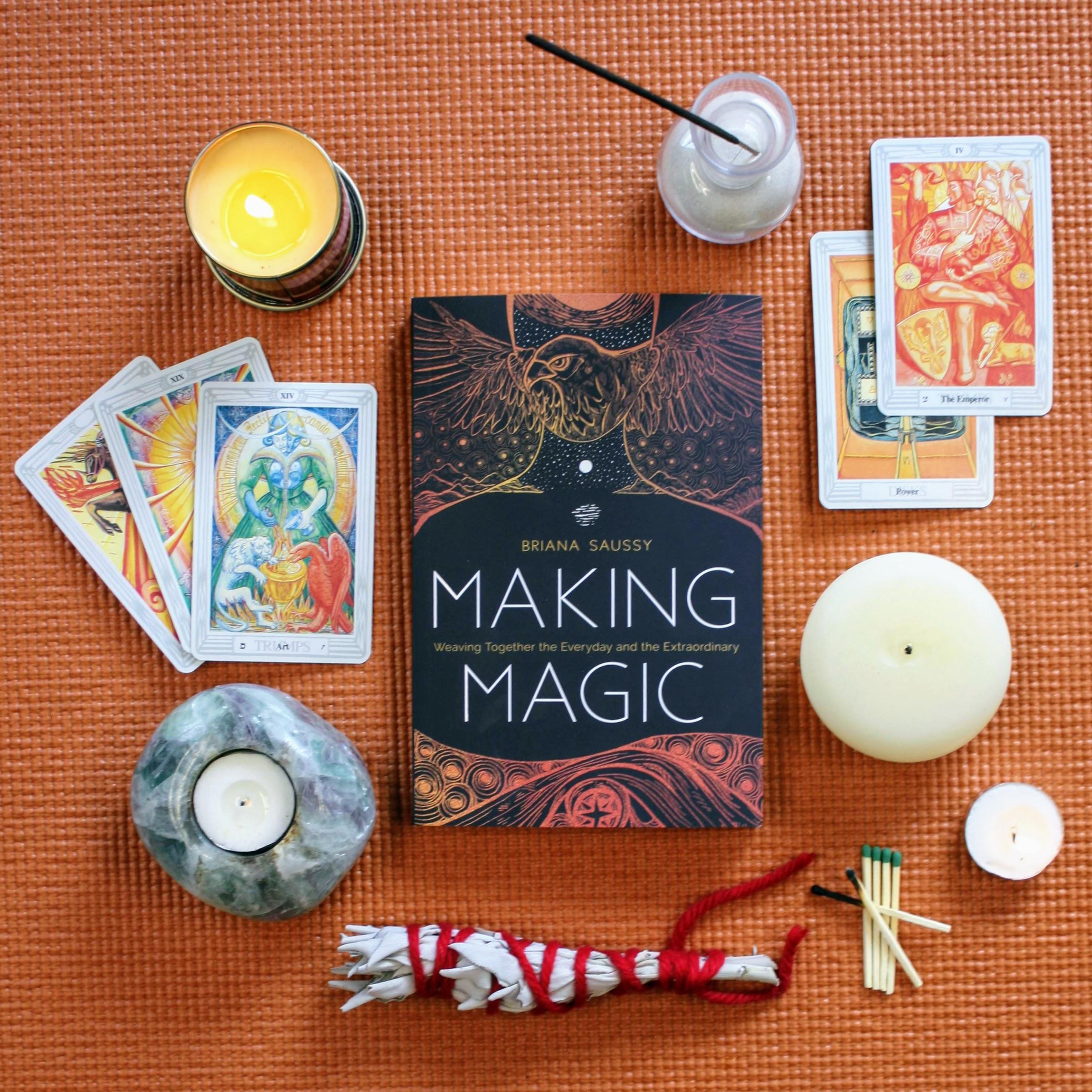 Briana Saussy, Making Magic, Enchanted Living Magazine