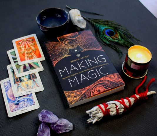 Briana Saussy, Making Magic, Enchanted Living Magazine