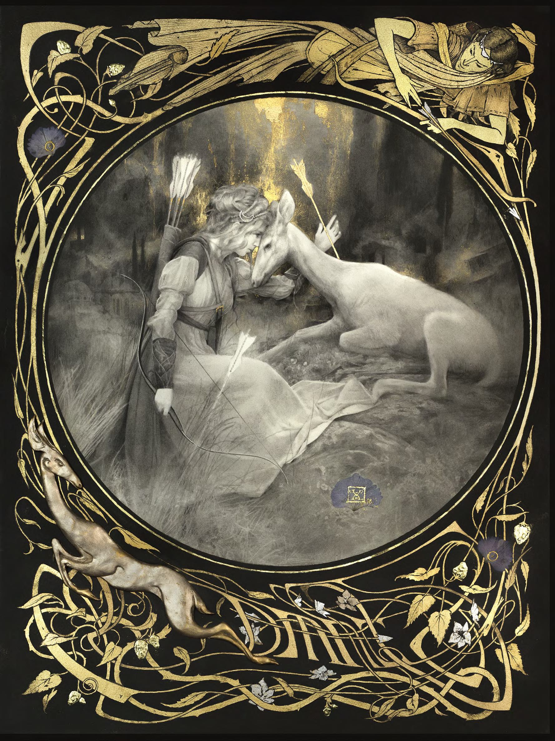 Aesthetic Harmony- The Art of Yoann Lossel and Psyché Ophiuchus Enchanted Living Magazine