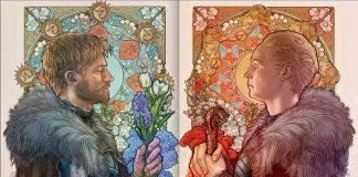 Game Of Thrones by Mona Fuchs Art Nouveau Faerie Magazine Enchanted Living Magazine