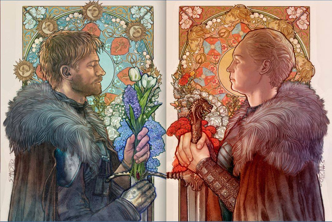 Game Of Thrones by Mona Fuchs Art Nouveau Faerie Magazine Enchanted Living Magazine