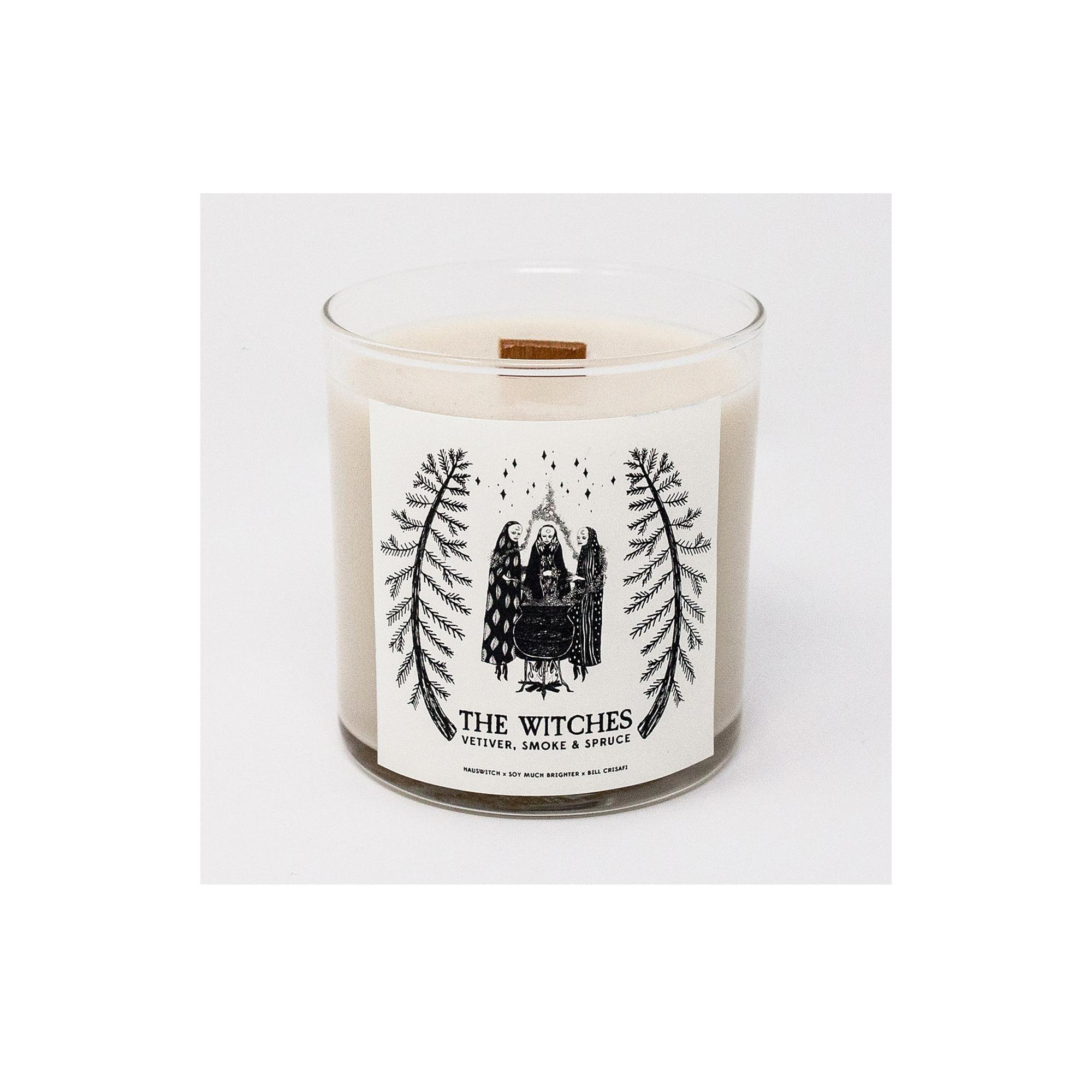 HAUSWITCH WITCHES CANDLE  Soy Much Brighter Bill Crisafi Enchanted Living Magazine