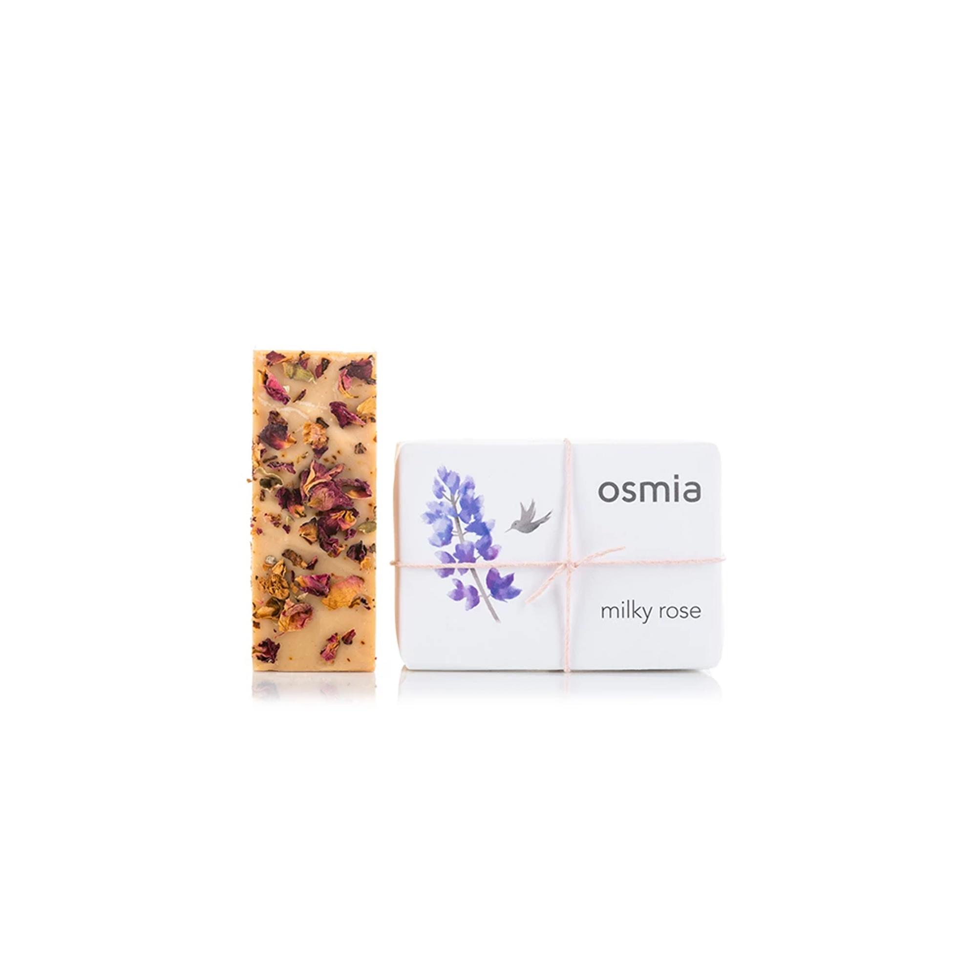 Milky Rose Soap by OSMIA Enchanted Living Magazine
