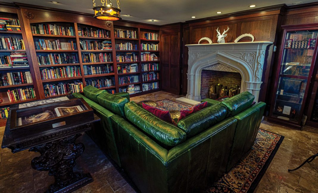 Holly Black Library Enchanted Living Magazine