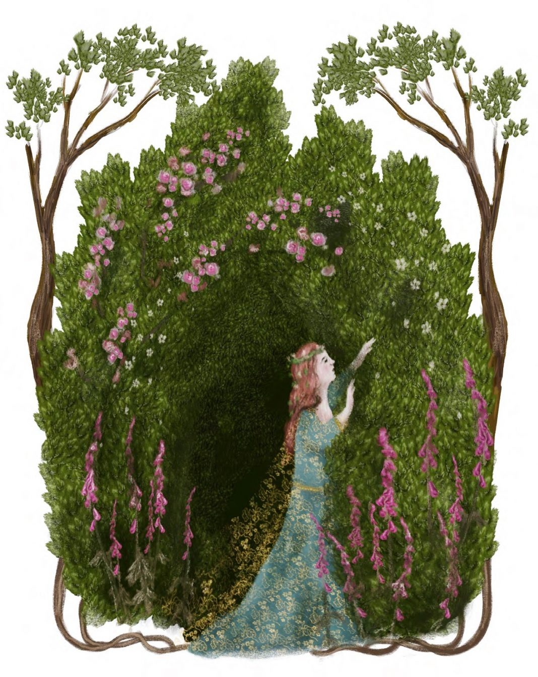 Illustration by Guinevere von Sneeden