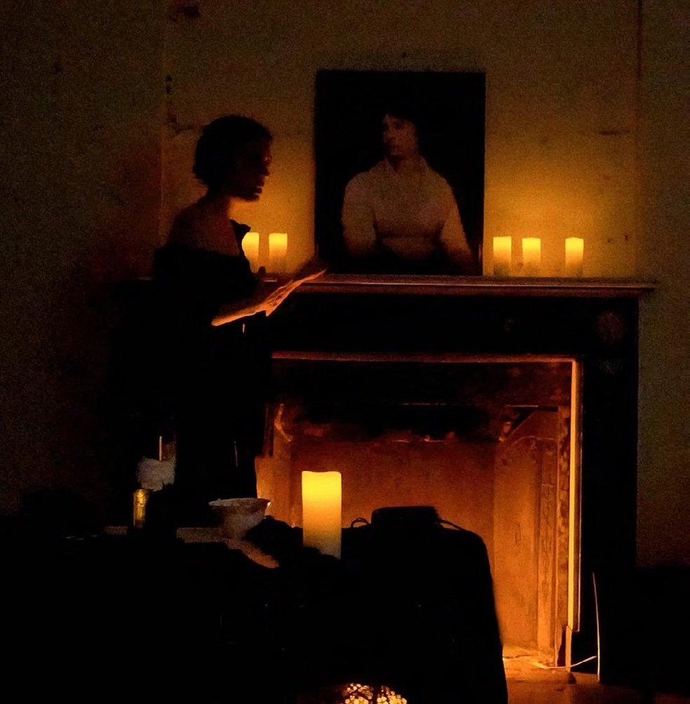 Photography by Kyle Cassidy, Strange Star Mary Shelley, A One-Woman Show by Jennifer Summerfield