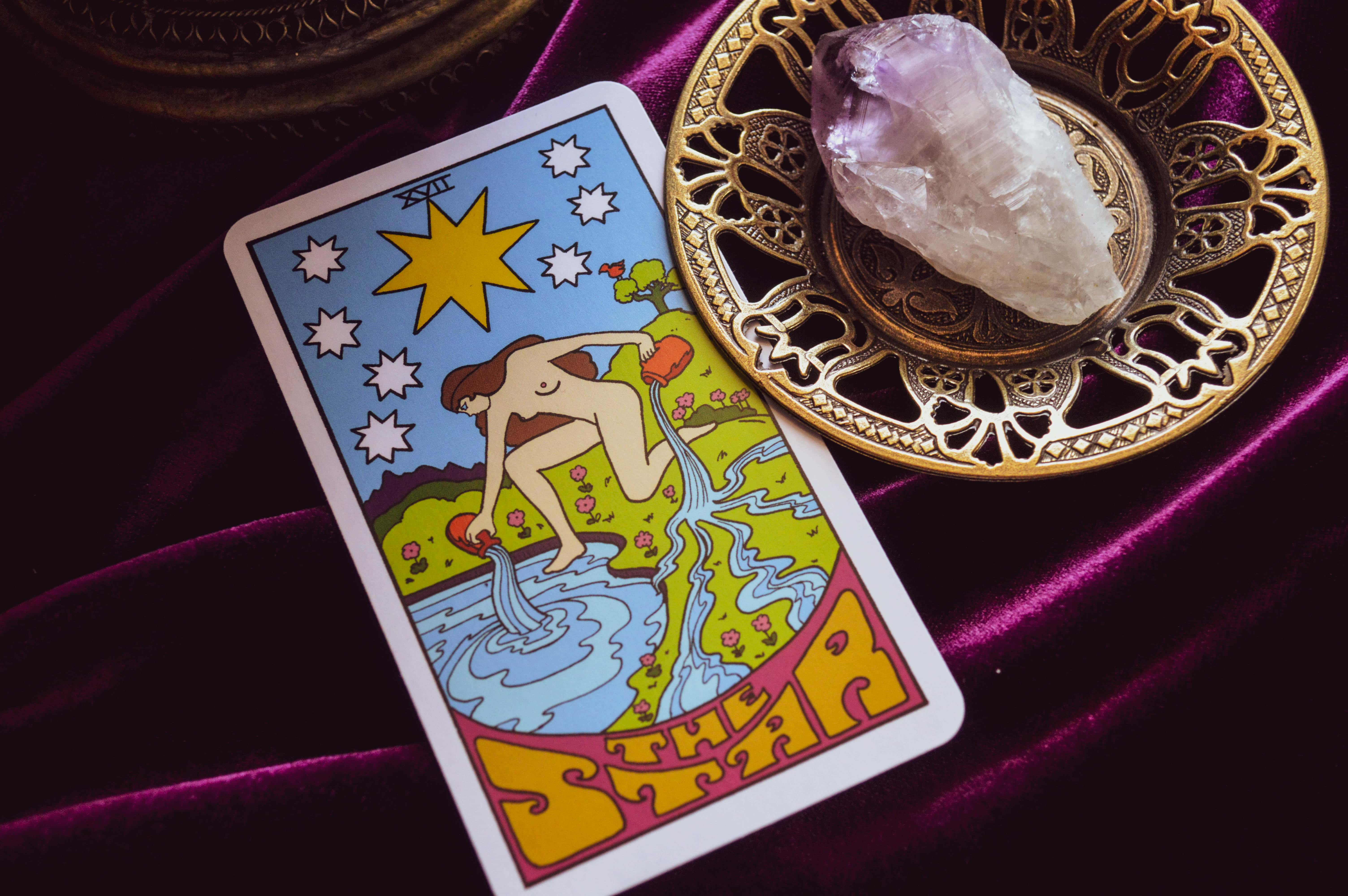 Alise Marie Beauty Witch February 2021 Enchanted Living Magazine Tarot The Star