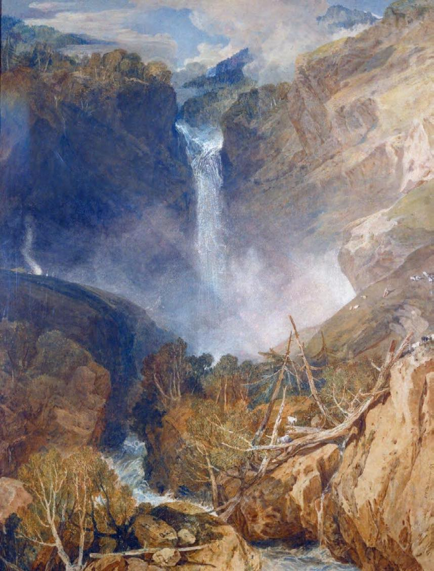 The Great Fall of the Reichenbach, 1804, J.M.W. Turner.