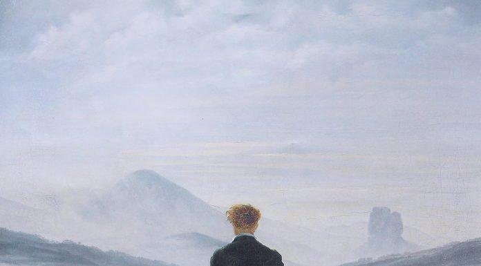 Wanderer Above the Sea of Fog, 1817, by Caspar David Friedrich