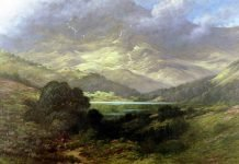 Landscape in Scotland, 1875, by Gustave Doré ©Wikimedia Commons