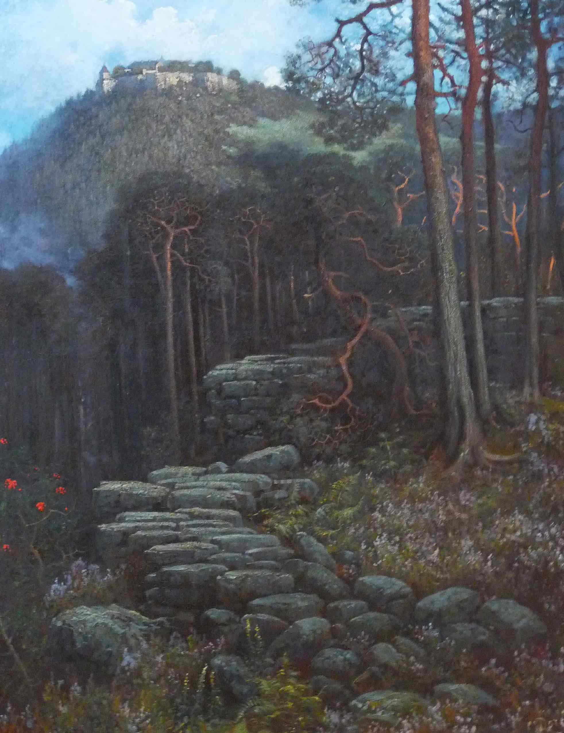 Mont Sainte-Odile with Pagan Wall, 1883, by Gustave Doré ©Wikimedia Commons