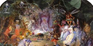 The Fairies' Banquet by John Anster Fitzgerald. Wikimedia Commons
