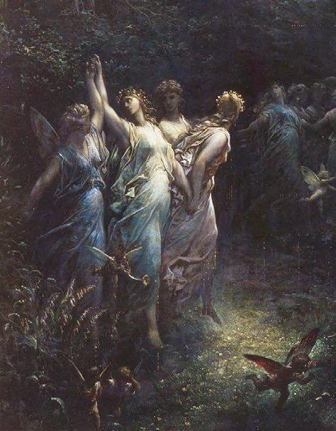 A Midsummer Night's Dream by Gustave Doré. Wikimedia Commons