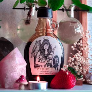 Summer is here and WytchWood's celebrating with their newest infused Vermont magickal maple syrup—strawberry, represented by the Norse goddess, Frigg! Click the link to learn more about this delicious libation!