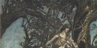 From A Midsummer-Night's Dream, 1908, by Arthur Rackham