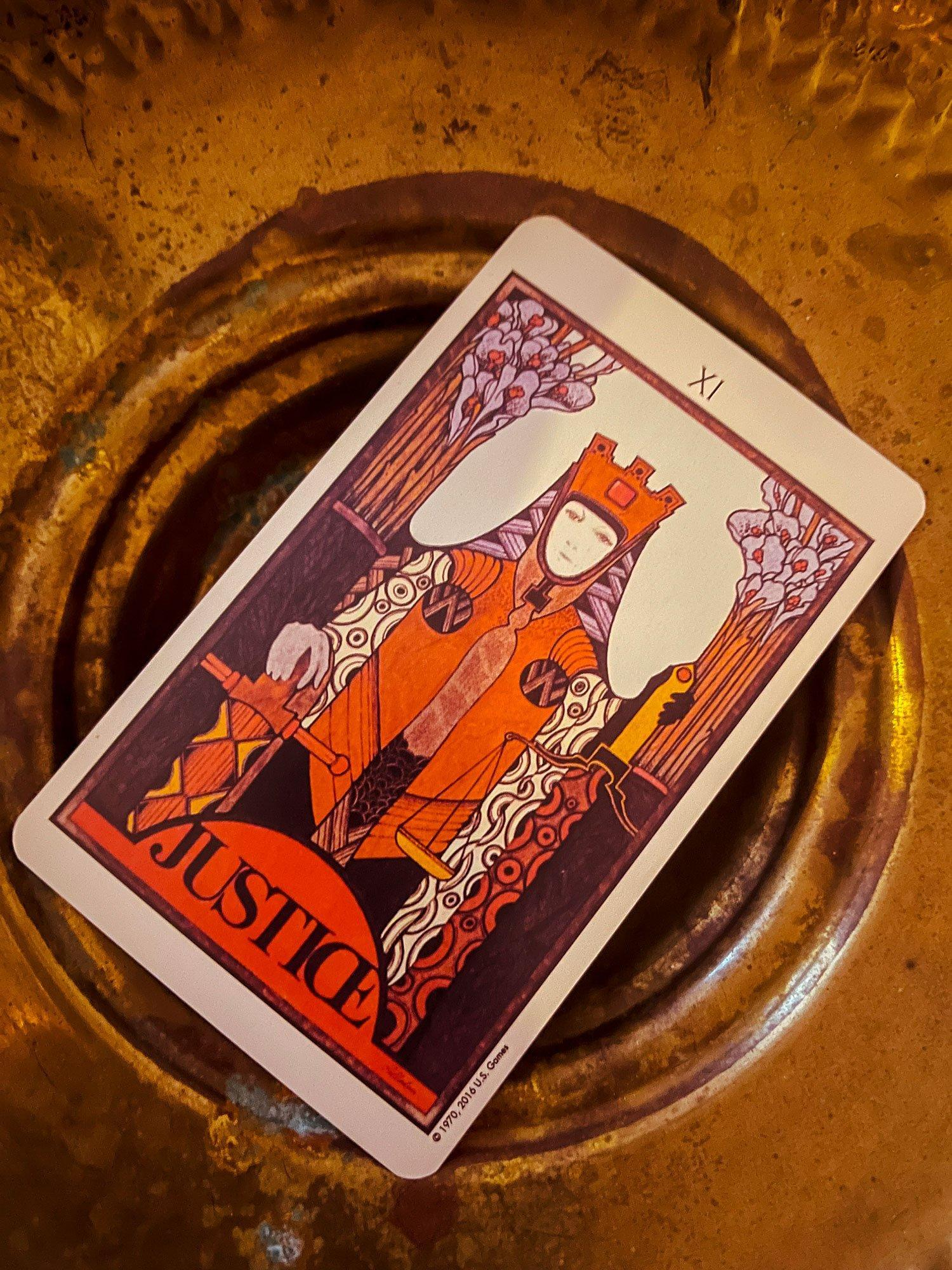 LIBRA POWER CARD: Justice Balance intuition with expertise. Karmic laws are in play. Use your third eye to see clearly.